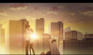 「クオリディア・コード|QUALIDEA CODE」第05話より 二人の特別な関係を垣間見られる美しいシーン