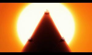 「アンジュ・ヴィエルジュ」第11話より 思わず「タケノコにしか見えねーー!」と突っ込んでしまったアビス 性能自体は決戦兵器に相応しい物でしたが・・・(苦笑)
