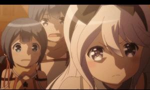 「レガリア The Three Sacred Stars」第09話より 最終的にはユイに本格的に嫉妬するような事は無かったですが、こうした顔を見せる辺りレガリア3人娘で一番苛烈な性格なのはやはりケイなのでしょう